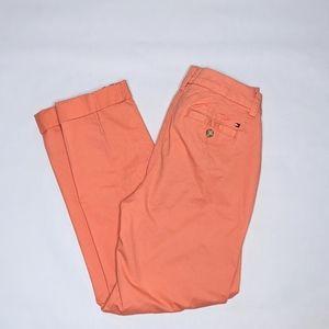 Tommy Hilfiger A La Cheville ankle coral pants